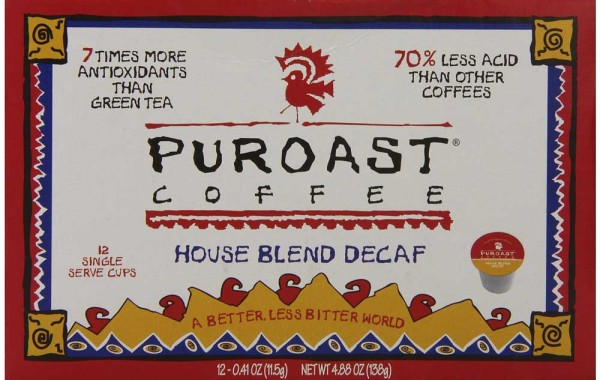 Puroast Low Acid Coffee Single Serve Keurig