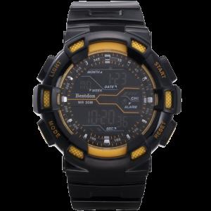 Bestdon Swiss Men's Sports Watches Digital Multifuction Display Time Yellow 1