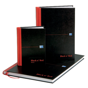 Oxford Black n' Red A5 Casebound