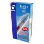 Pilot-G207-Retractable-Gel-Rollerball-0.7-mm-Tip-(Box-of-12)---Red_3
