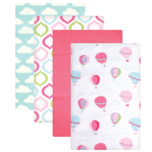 Luvable-Friends-Flannel-Receiving-Blankets,-Balloons,-4-Count_1