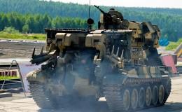 Engineering military vehicle