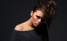attractive fashion model