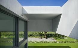 modern house, exterior.